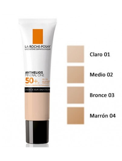 LA ROCHE POSAY ANTHELIOS MINERAL ONE SPF 50+ CREMA MOYENNE 30 ML