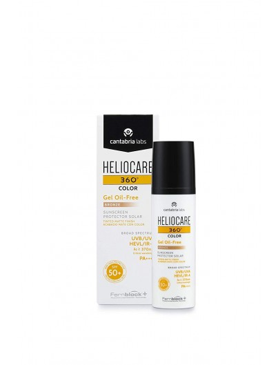 HELIOCARE COLOR 360º GEL OIL-FREE spf50+ BRONZE 50 ML