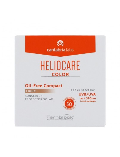 HELIOCARE COLOR SPF50 COMPACTO OIL FREE TONO LIGHT
