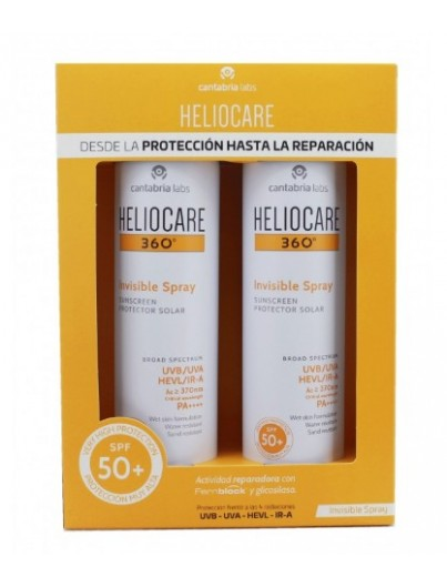 HELIOCARE 360 SPRAY INVISIBLE SPRAY 200 ML DUPLO