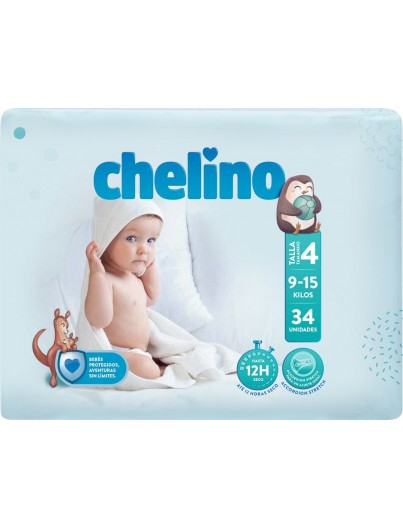 PAÑAL CHELINO FASHION LOVE T4 9A15 K 34U