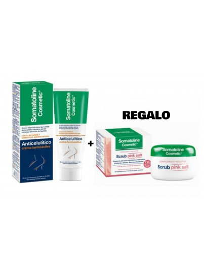 SOMATOLINE COSMETICS ANTICELULITICO CREMA 250 ML + REGALO EXFOLIANTE