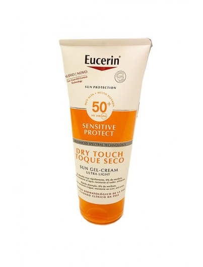 EUCERIN SUN SENSITIVE PROTECT TOQUE SECO SPF50+ GEL - CREAM ULTRA LIGHT 200 ML