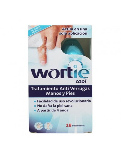 WORTIE COOL TRATAMIENTO ANTI VERRUGAS MANOS Y PIES 50 ML