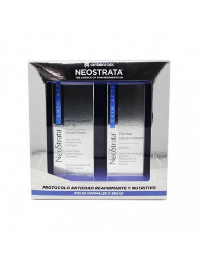 NEOSTRATA SKIN ACTIVE PACK CREMA MATRIX SUPPORT SPF30 50 ML + DERMAL REPLENISHMENT 50 ML