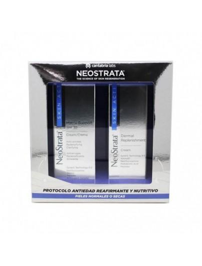 NEOSTRATA SKIN ACTIVE PACK CREMA MATRIX SUPPORT SPF30 50 ML + DERMAL REPLENISHMENT 50 ML