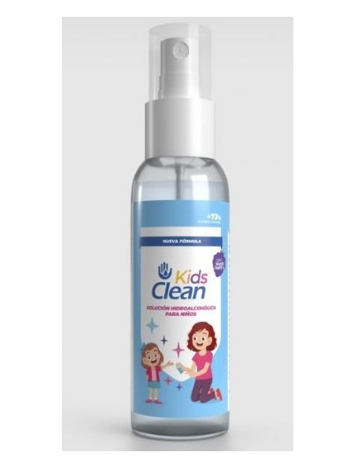 CLEAN KIDS SOLUCION HIDROALCOHOLICA 100 ML