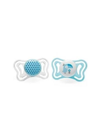 CHICCO CHUPETE PHYSIOFORMA LIGHT 2 - 6 MESES 2 UNIDADES