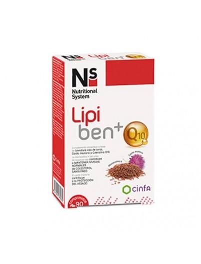 N+S LIPIBEN + Q10 90 COMPRIMIDOS