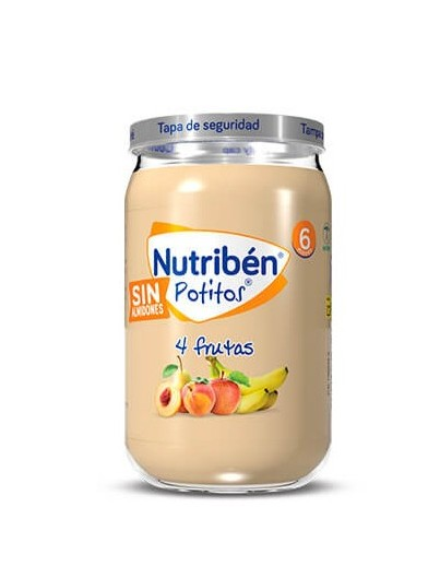 NUTRIBEN 4 FRUTAS POTITO 235 G