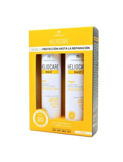 HELIOCARE 360º AIRGEL SPF50 200 ML DUPLO