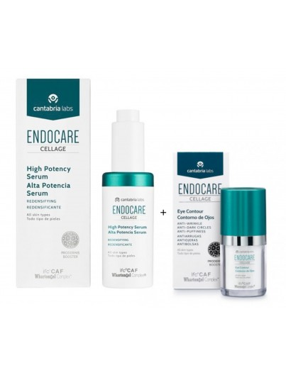 ENDOCARE CELLAGE ALTA POTENCIA SERUM 30 ML + CONTORNO OJOS 15 ML