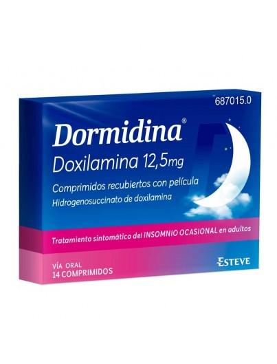 DORMIDINA 12.5 MG 16 COMPRIMIDOS