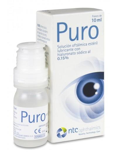 PURO SOLUCION OFTALMICA 10 ML
