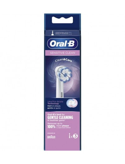 ORAL B SENSITIVE CLEAN RECAMBIO 3 UNIDADES