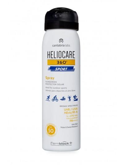 HELIOCARE 360? SPORT SPRAY PROTECTOR SOLAR SPF 50 1 ENVASE 100 ml