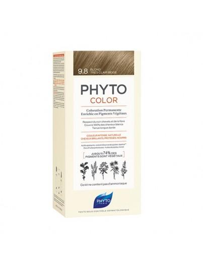 PHYTO PHYTOCOLOR 9,8 RUBIO BEIGE MUY CLARO