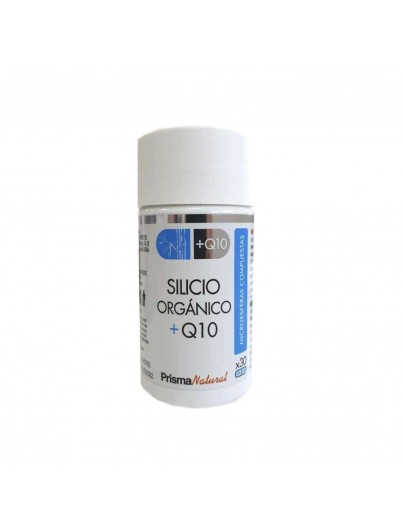 PRISMA NATURAL SILICIO ORGANICO + Q10 30 CAPSULAS