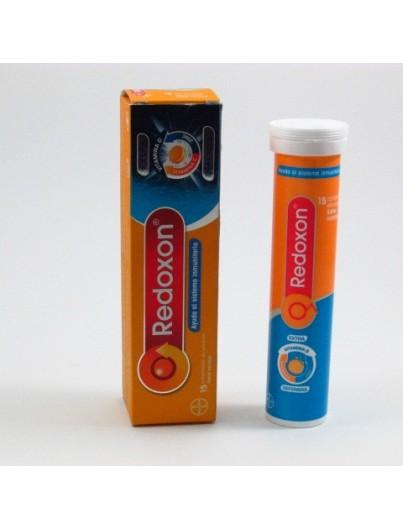 REDOXON 1 G 15 COMPRIMIDOS EFERVESCENTES NARANJA