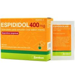 ESPIDIDOL 400 MG 20 SOBRES GRANULADO SOLUCION ORAL MENTA