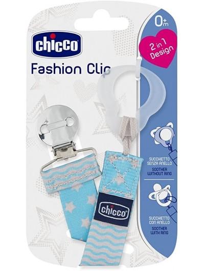 CHICCO CADENITA FASHION CLIP AZUL 0+ MESES