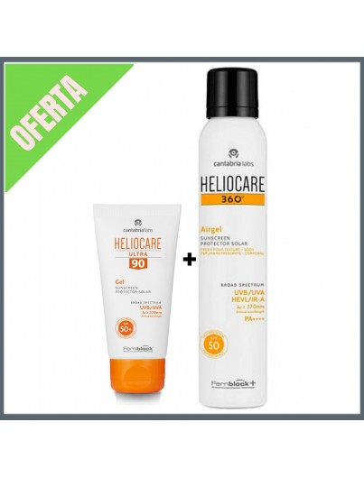 HELIOCARE PACK ULTRA GEL 90 + 360 AIRGEL