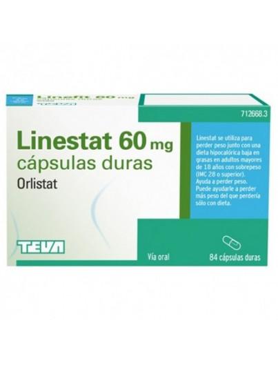 LINESTAT 60 mg 42 CAPSULAS