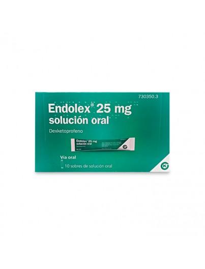 ENDOLEX 25 mg 10 SOBRES SOLUCION ORAL 10 ml