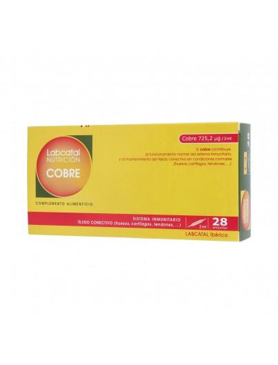 LABCATAL NUTRICION COBRE 28 AMPOLLAS