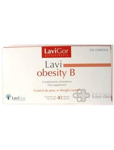 LAVI OBESITY B 50 CAP LAVIGOR