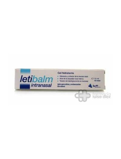 LETIBALM GEL INTRANASAL 20 ML