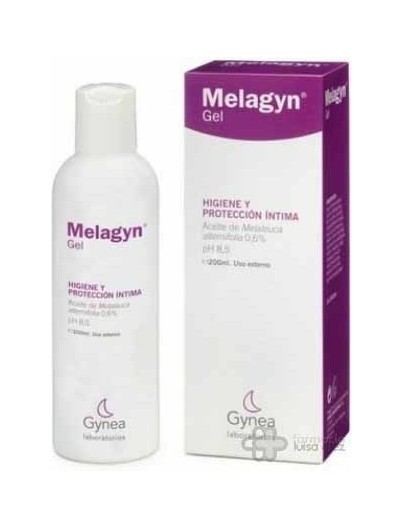 MELAGYN GEL HIGIENE INTIMA 200 ML GEL