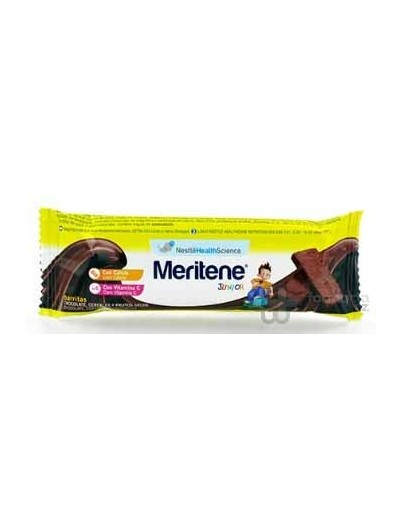 MERITENE JUNIOR BARRITAS CEREALES 35 G 1 BAR CHOCOLATE FRUTOS SECOS