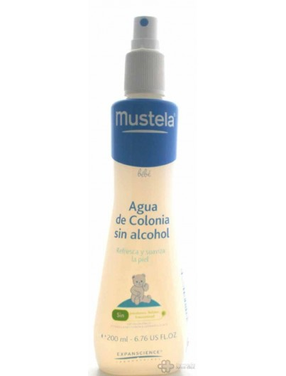 MUSTELA AGUA DE COLONIA BEBE 200 ML.