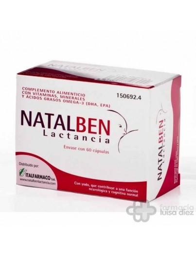 NATALBEN LACTANCIA 60CAPSULAS