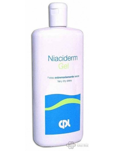 NIACIDERM GEL 500 ML