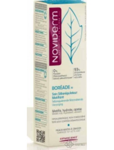 NOVIDERM BOREADE EMULSION MATIFICANTE 40 ML