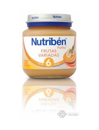 NUTRIBEN BEBE FRUTAS VARIADAS 130 G