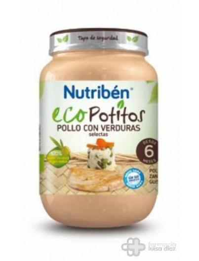 NUTRIBEN ECO POLLO CON VERDURAS SELECTAS POTITO GRANDOTE 250 G