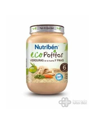 NUTRIBEN ECO SELECCION VERDURAS DE HUERTA C PAVO POTITO GRANDOTE 250 G