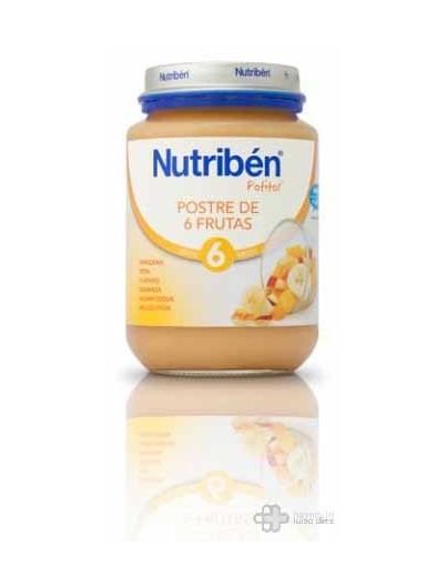 NUTRIBEN JUNIOR POSTRE DE FRUTAS 200 G.