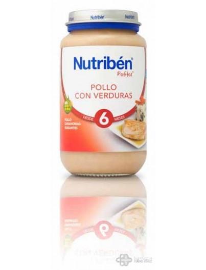 NUTRIBEN POLLO CON VERDURAS 250 G GRANDOTE