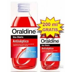 ORALDINE ANTISEPTICO PACK 400 ML + 200 ML