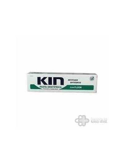 KIN PASTA DENTÍFRICA CON FLUOR Y ALOE 125 ML
