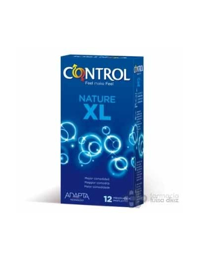 PRESERVATIVOS CONTROL NATURE XL 12 UNIDADES