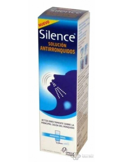 SILENCE AEROSOL BUCAL 50 ML