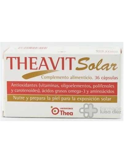 THEAVIT SOLAR 36 CÁPSULAS