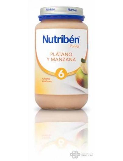 NUTRIBEN PLATANO NARANJA MANDARINA Y PERA GRANDOTE 250 G