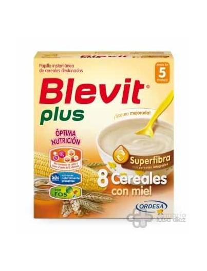 BLEVIT PLUS SUPERFIBRA 8 CEREALES CON MIEL 300 GRS