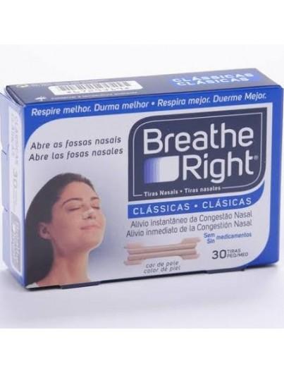 BREATHE RIGHT TALLA PEQUEÑA MEDIANA 30 UNIDADES